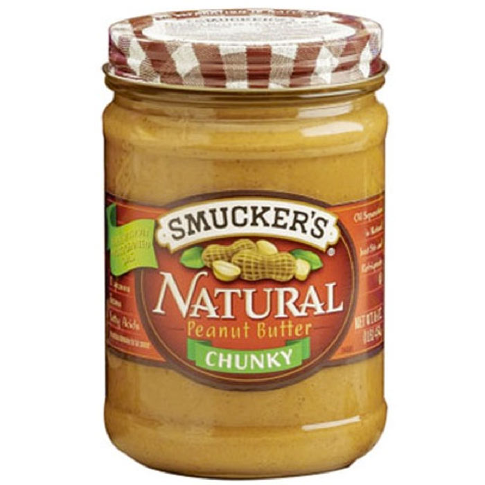 Best Peanut Butter: Smucker's Natural Chunky Peanut Butter