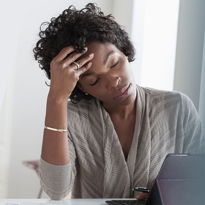 De-stress to be Less Forgetful