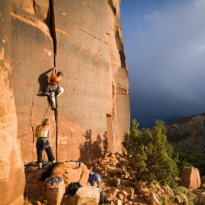 Rock Climb in Mount Zion National Park