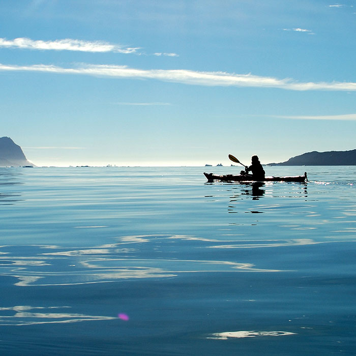 Kayak and Hike in Greenland