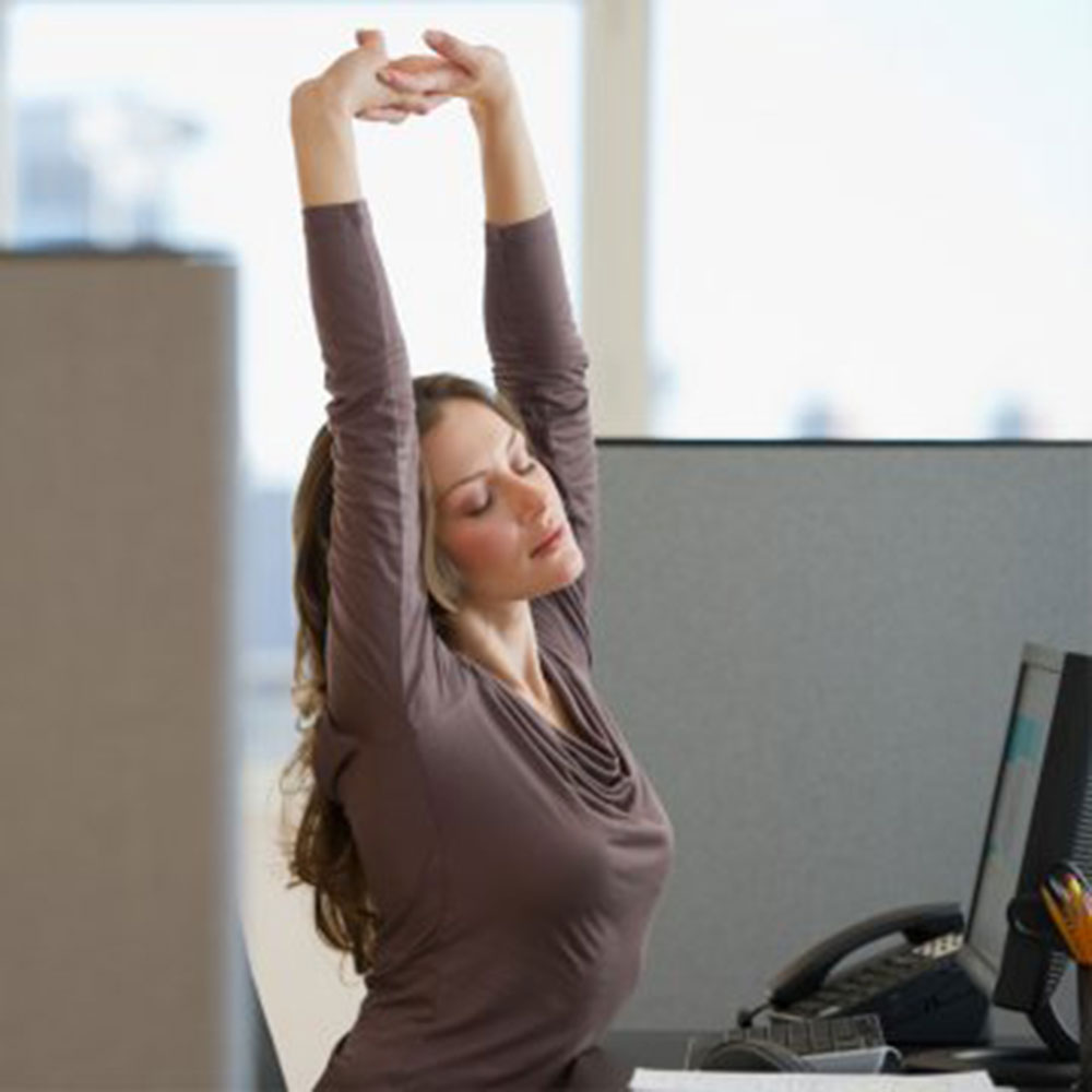 Work Out at Your Desk