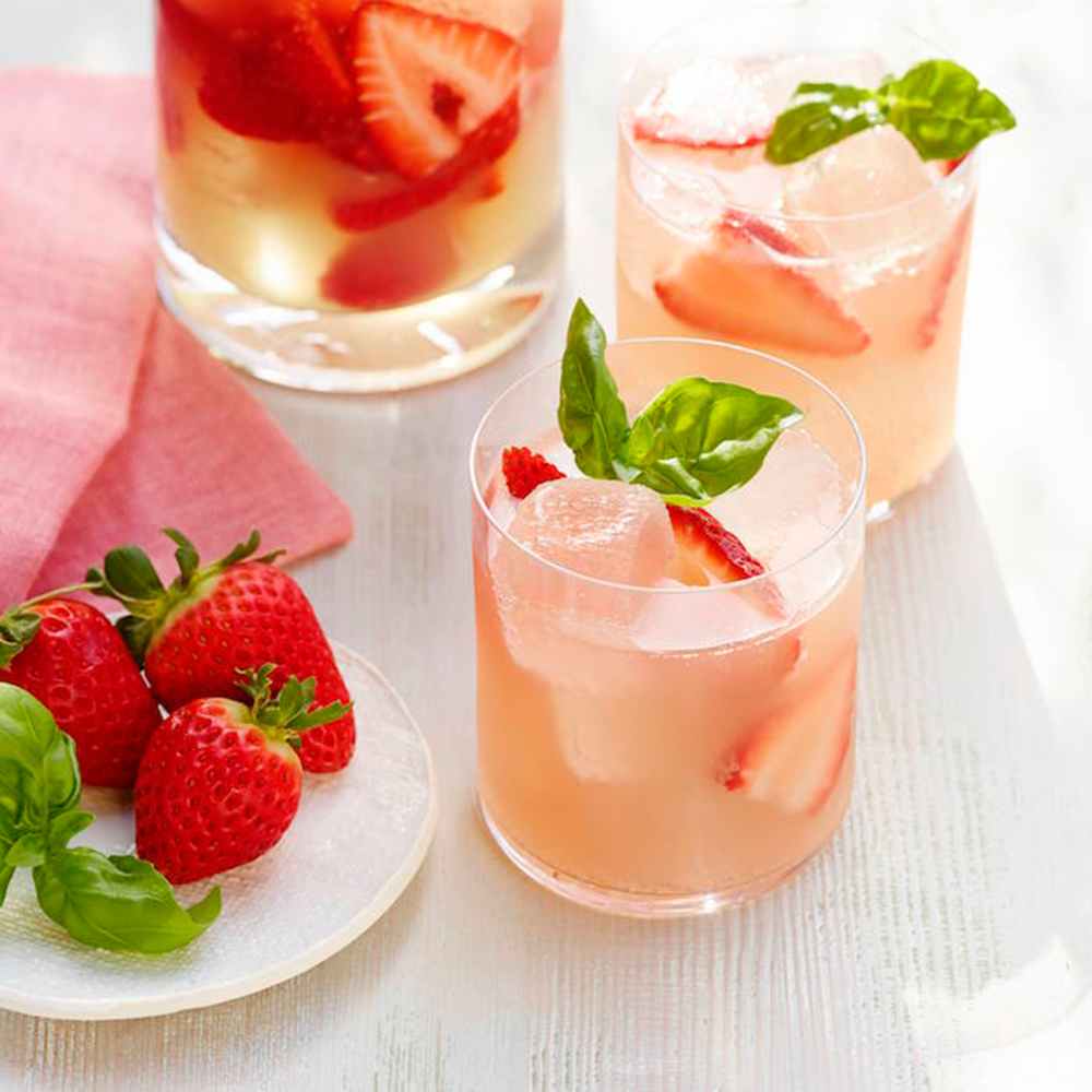 Strawberries and Rosé