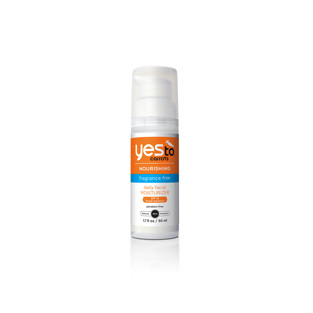 Yes to Carrots Fragrance Free Daily Facial Moisturizer