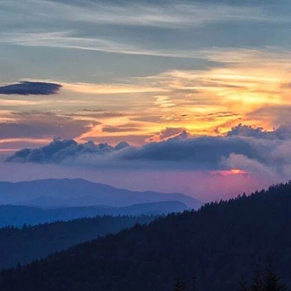 North Carolina and Tennessee: Great Smoky Mountain National Park