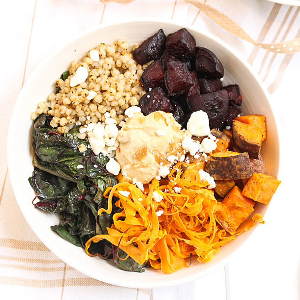 Roasted Root Vegetable Bowl