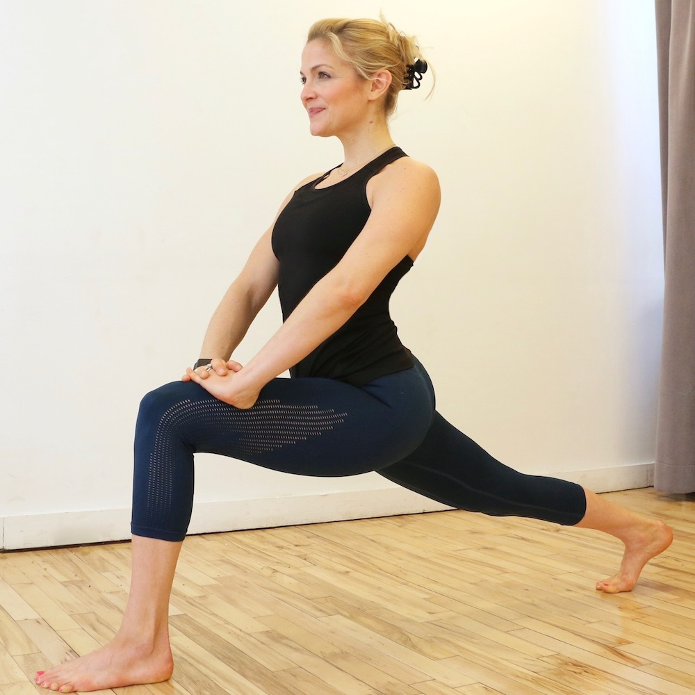 Lunge Knee Lifts
