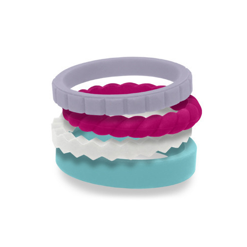 QALO Stackable Silicone Rings