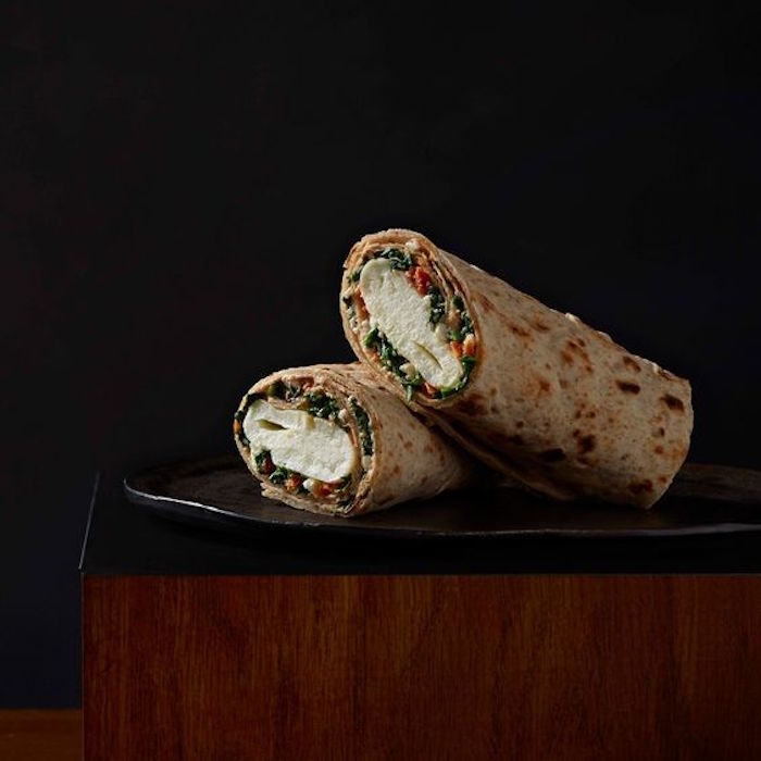 Spinach, Feta & Cage-Free Egg White Breakfast Wrap