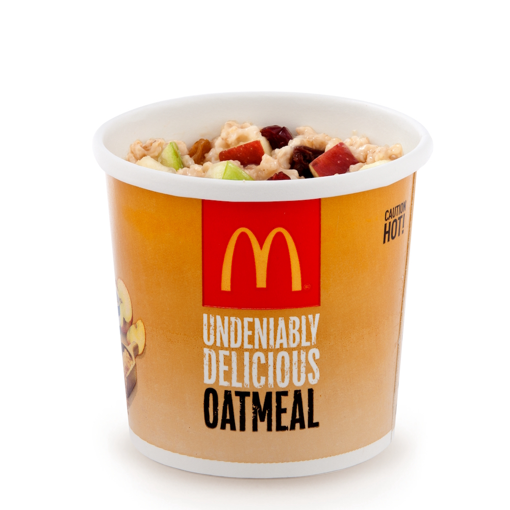 Fruit and Maple Oatmeal