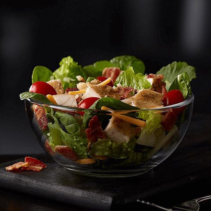 Bacon Ranch Grilled Chicken Salad