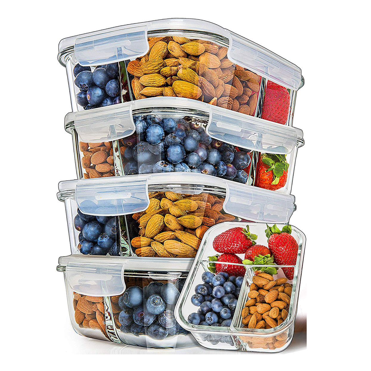 best-meal-prep-containers-amazon-3-compartment