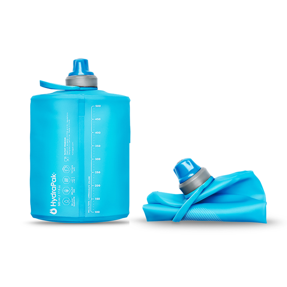 Accessories: HydraPak Stow Collapsible Water Bottle