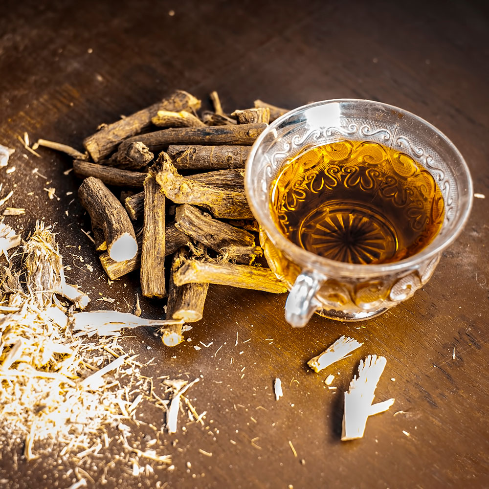 licorice root as a natural sore throat remedy