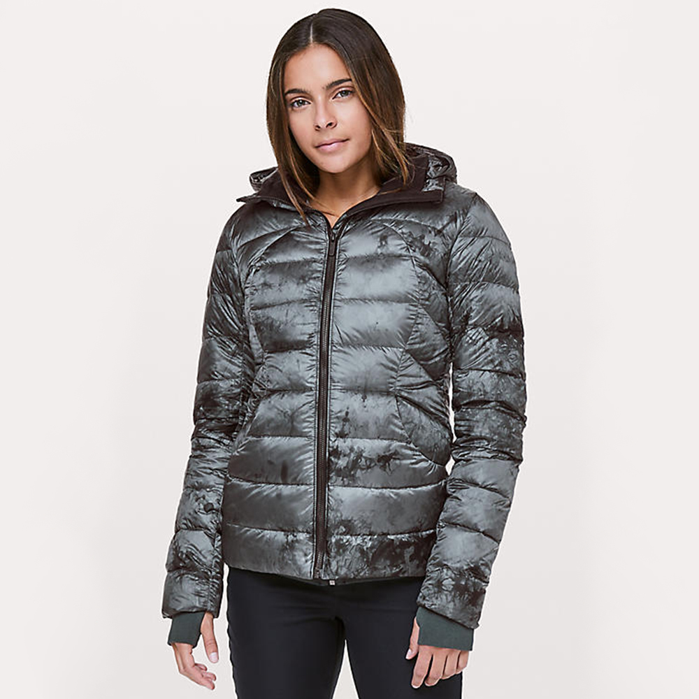 lululemon packable down jacket