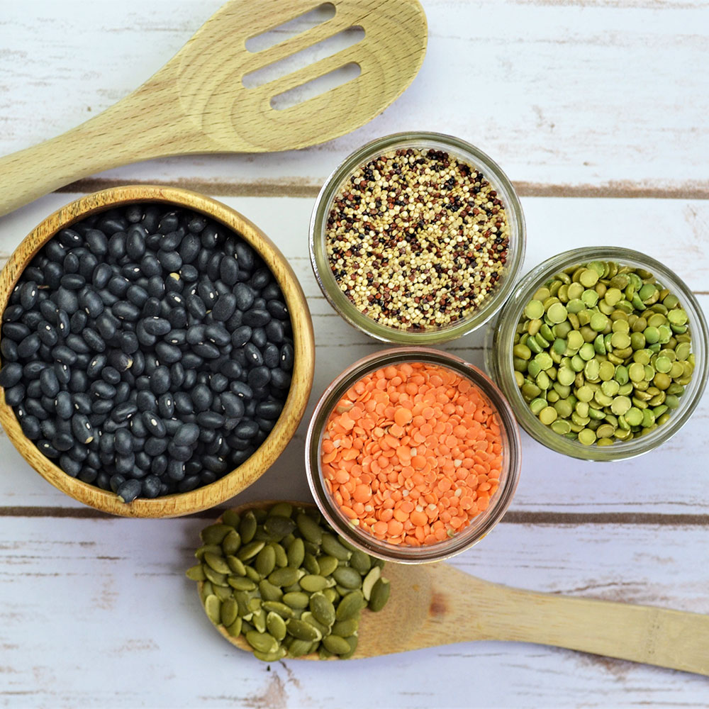 high protein vegan meals plant based protein sources