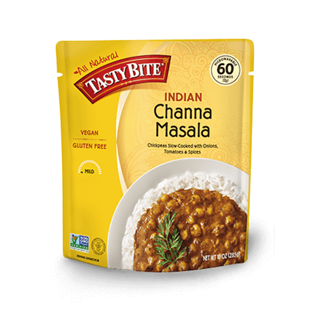 Tasty Bite Channa Masala healthy packaged meals