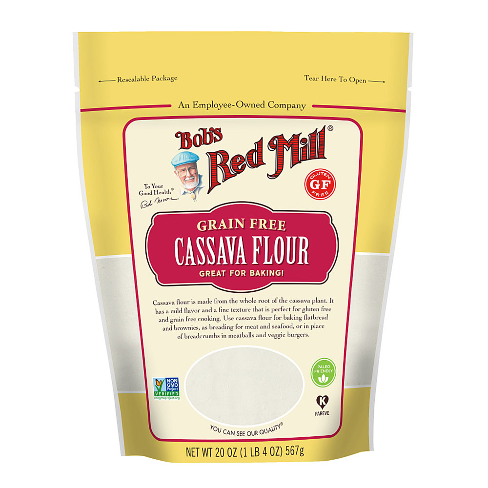 Bobs red mill cassava flour healthy processed foods
