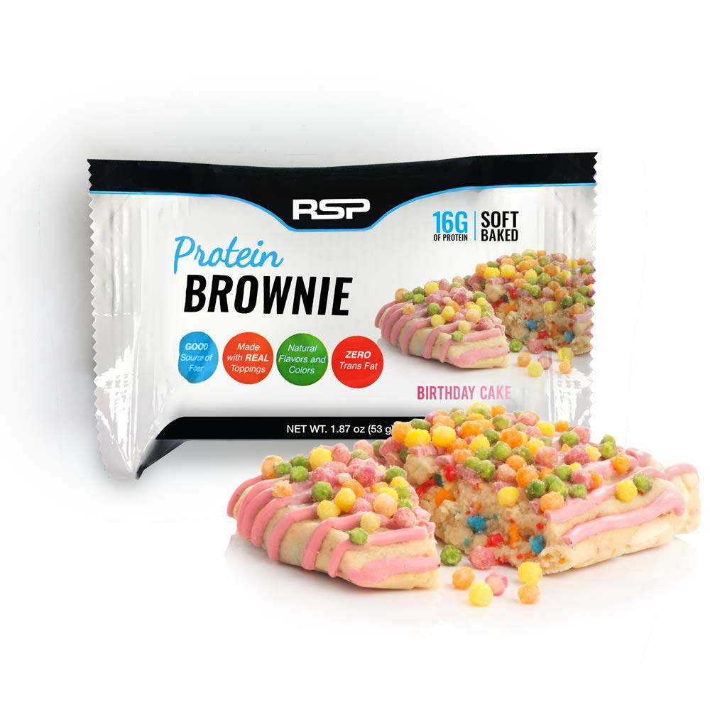 rsp protein brownie keto protein bar