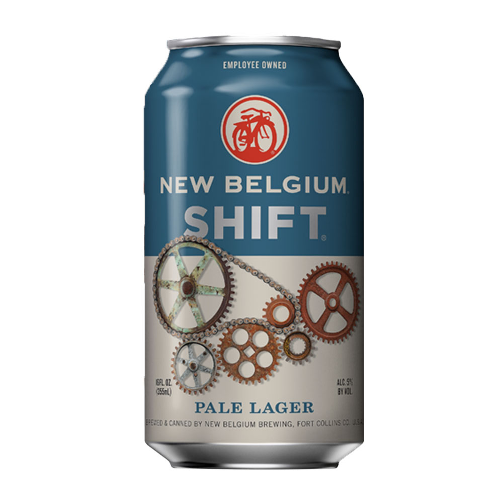 New Belgium Brewing Company Shift Pale Lager