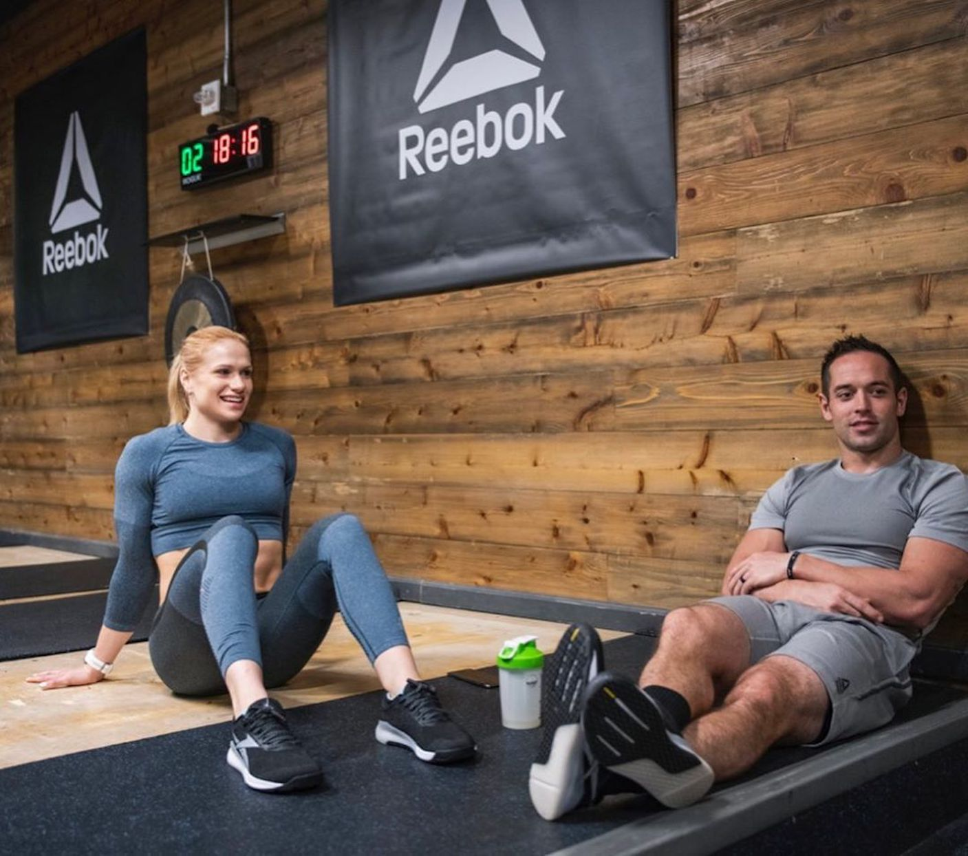 Annie Thorsidottir and Rich Froning workout tips