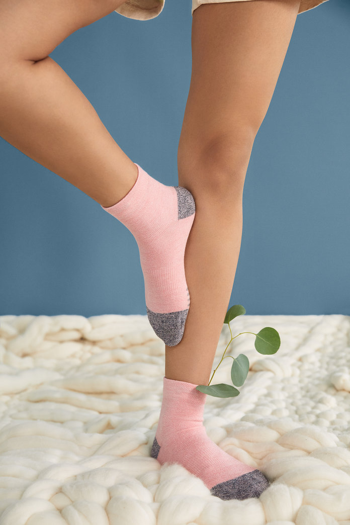 Allbirds Trino pink socks