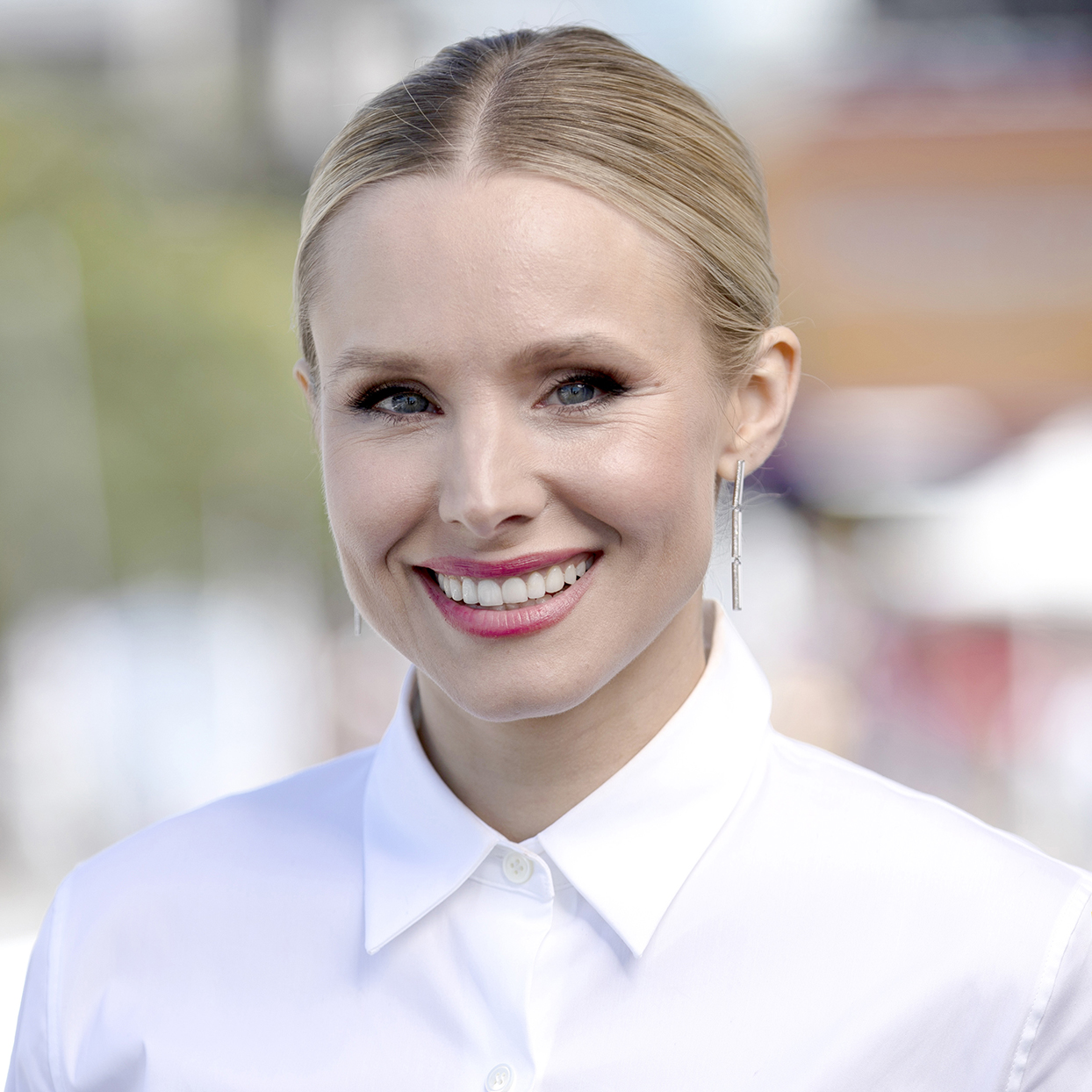 Kristen Bell attends the #IMDboat at San Diego Comic-Con 2019: Day Two at the IMDb Yacht on July 19, 2019 in San Diego, California.