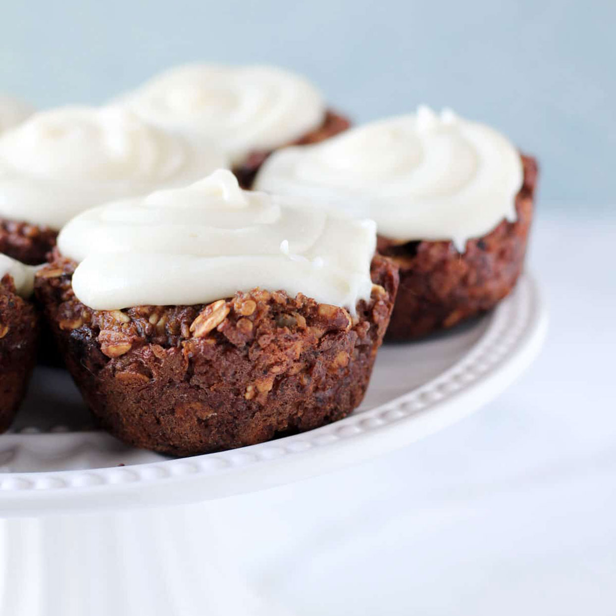 Between the walnuts, raisins, cinnamon, nutmeg, and cream cheese icing, you won't even notice that these carrot cake muffins are a protein-packed healthy quinoa recipe. (See also:10 Guilt-Free Muffin Recipes for Fall.)Get the recipe:Carrot Cake Quinoa Muffins with Frosting