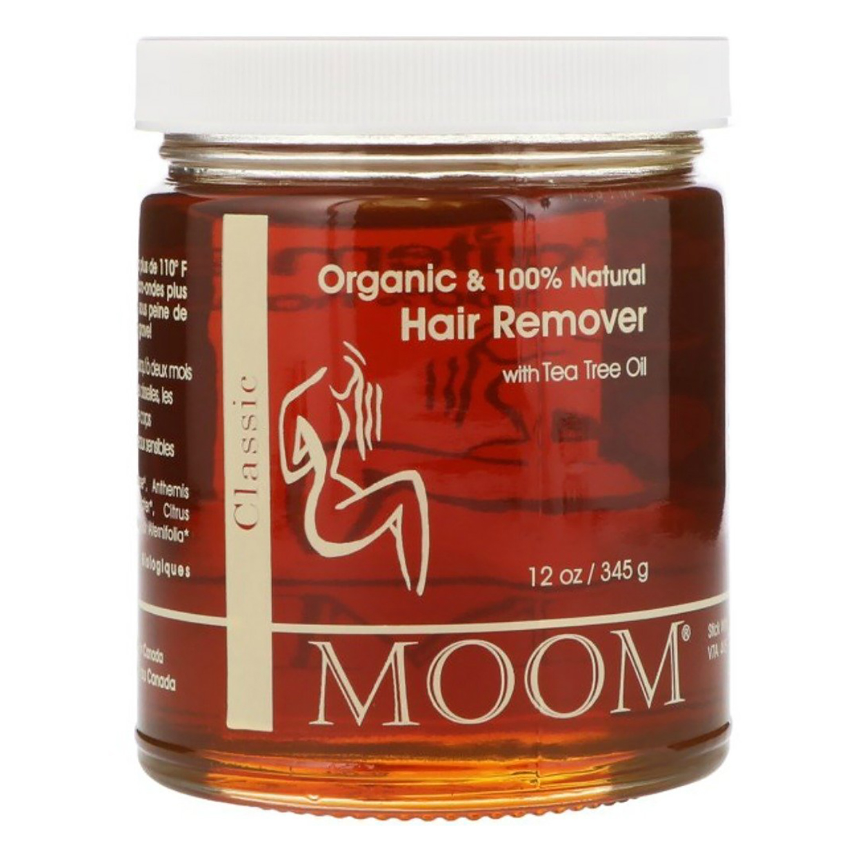 Moom Organic Hair Removal with Tea Tree Oil