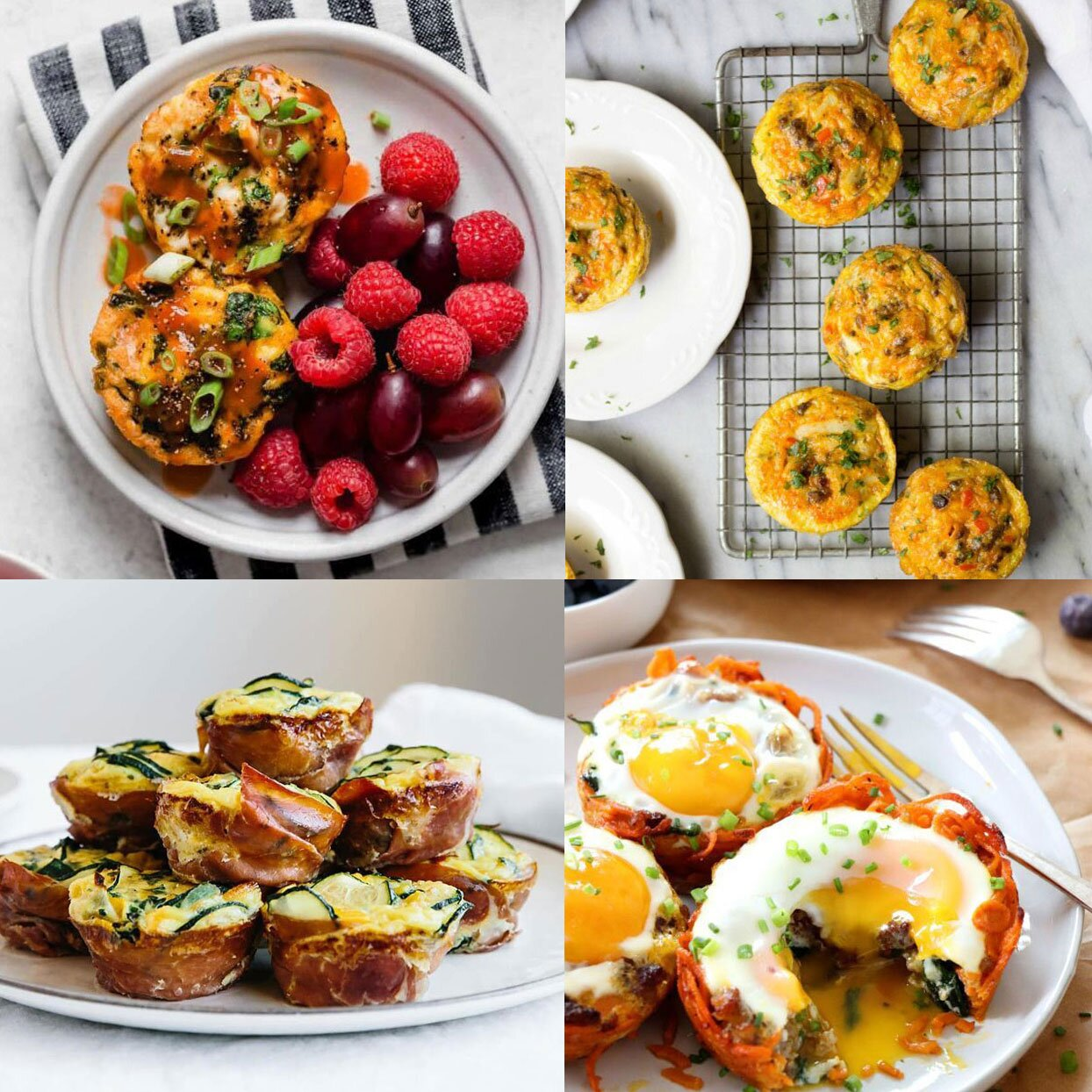 Egg Muffin Recipes For Easy Breakfast Meals Shape