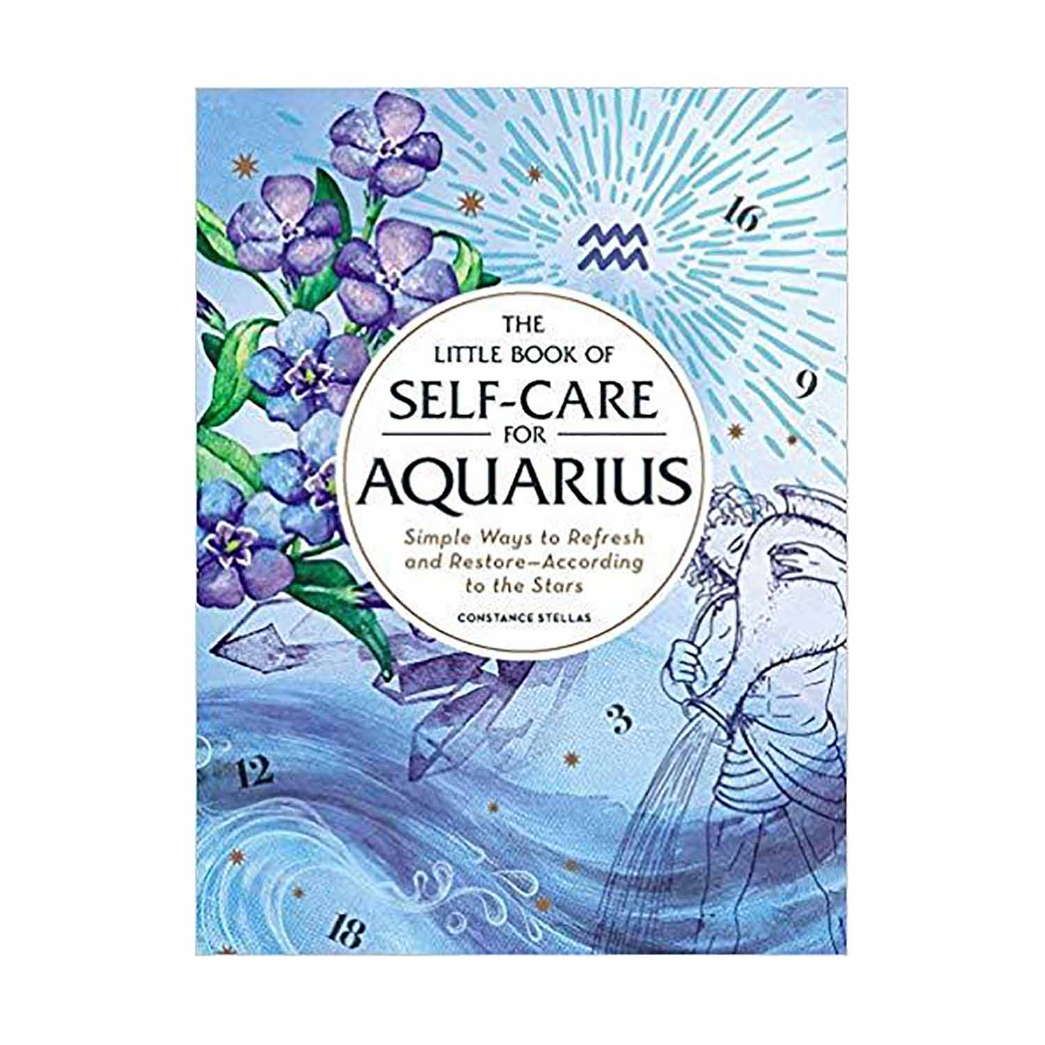 astrology gifts self-care book for aquarius