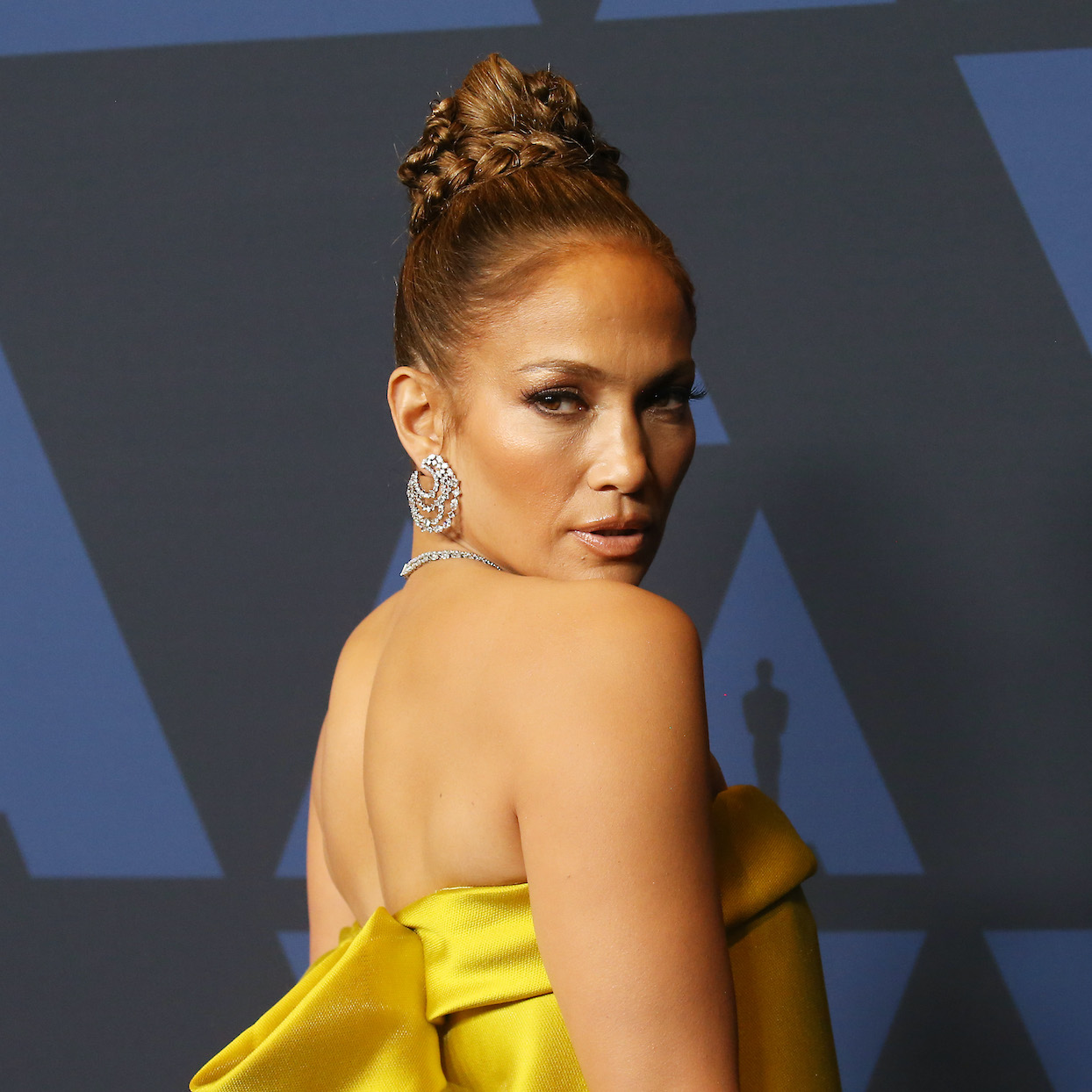 Jennifer Lopez arrives to the Academy of Motion Picture Arts and Sciences' 11th Annual Governors Awards held at The Ray Dolby Ballroom at Hollywood & Highland Center on October 27, 2019 in Hollywood, California