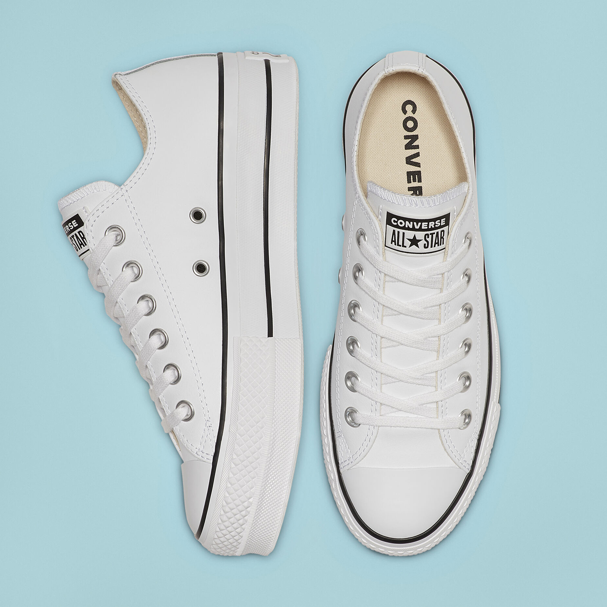 Chuck Taylor All Star Leather Platform Low Top
