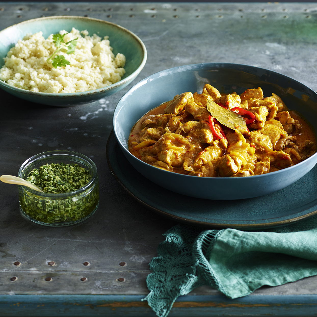 Love Indian food? If you're watching your weight, you may want to steer clear of curry at restaurants. Most curry dishes are high in fat and calories (especially when they have meat), and can range between 400-600 calories per serving. (For a light dish, try making this chicken curry recipe at home instead).
