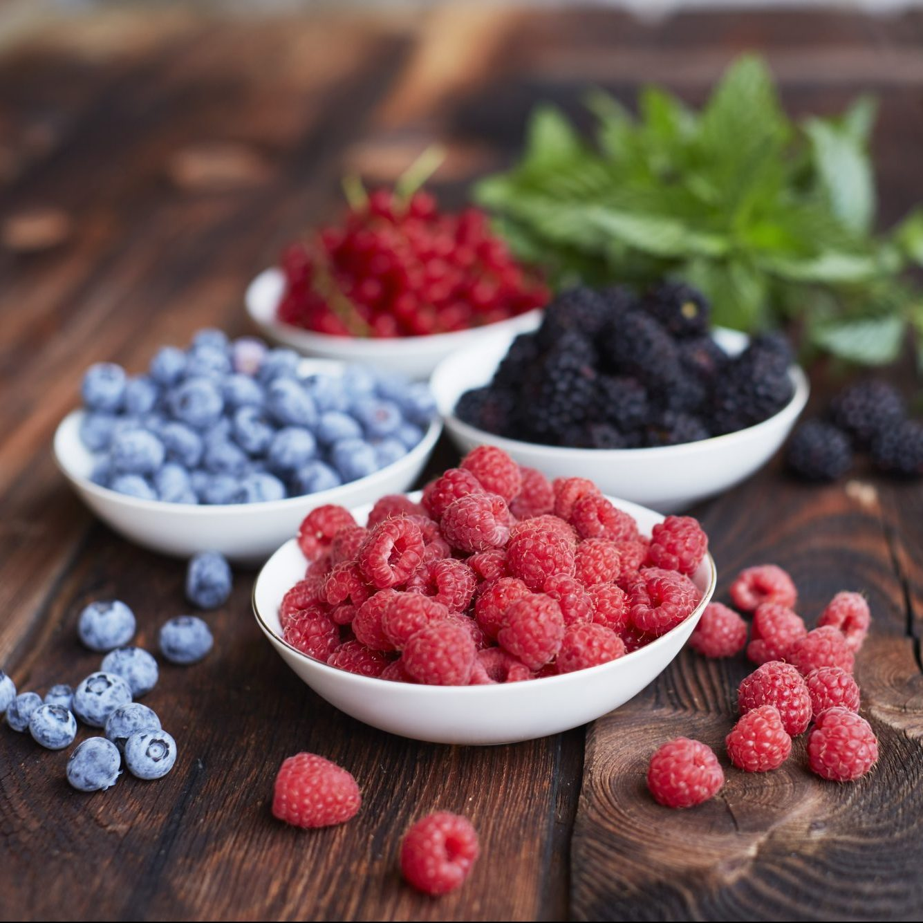Your legs can take a pounding from high-impact activities like running; soreness you feel after a hard run may be caused by micro-tears in the exercised muscles. That's why, in addition to their high fiber content, berries are a good option for runners: the vitamin C and potassium they contain help the body repair itself.