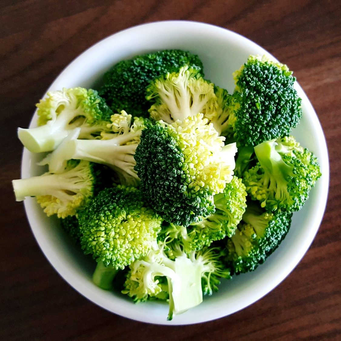 Close-Up Of Broccoli In Bowl as a best food for runners