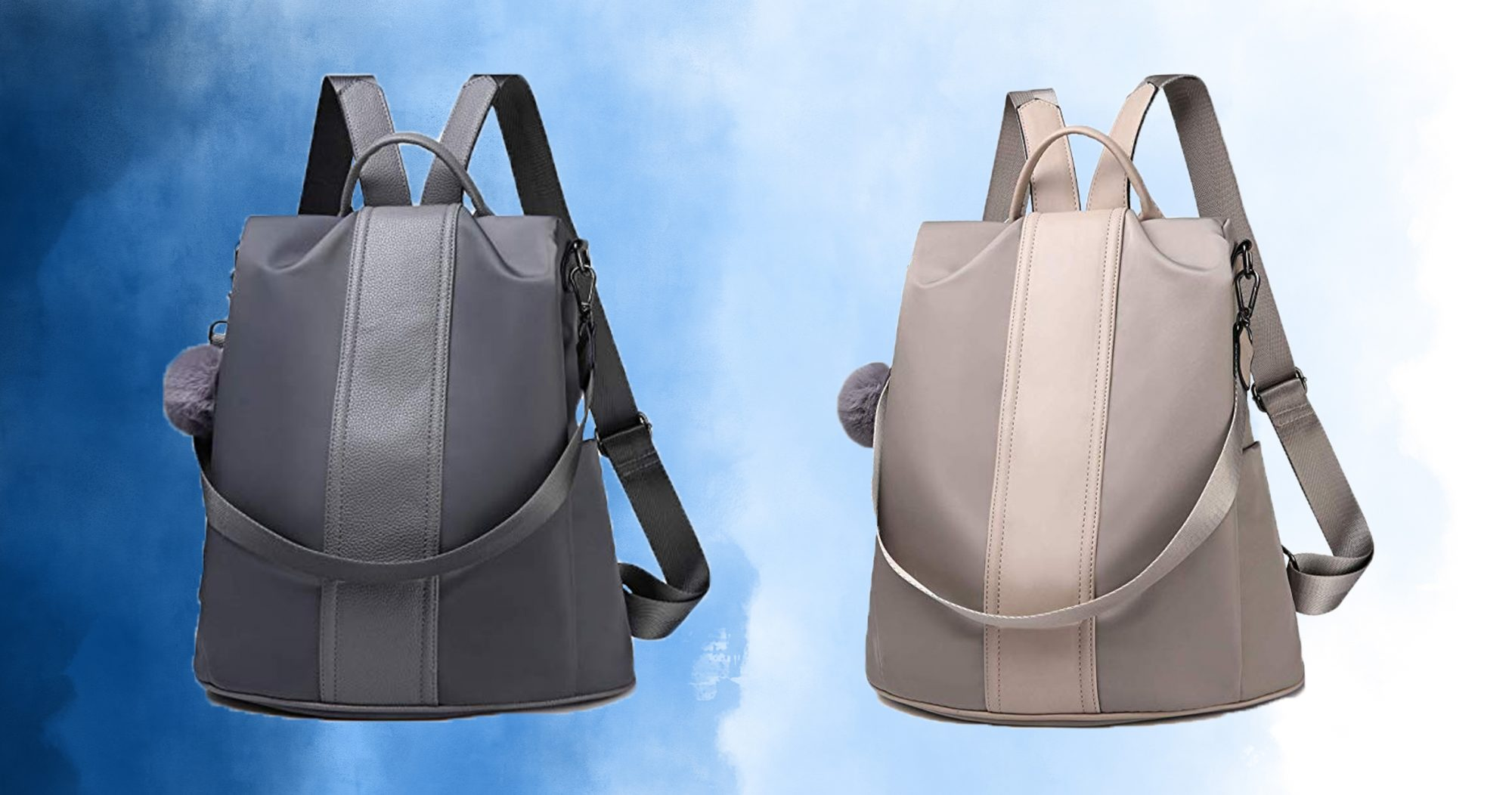 This Sleek Backpack Is *Way* More Comfortable Than a Tote Bag