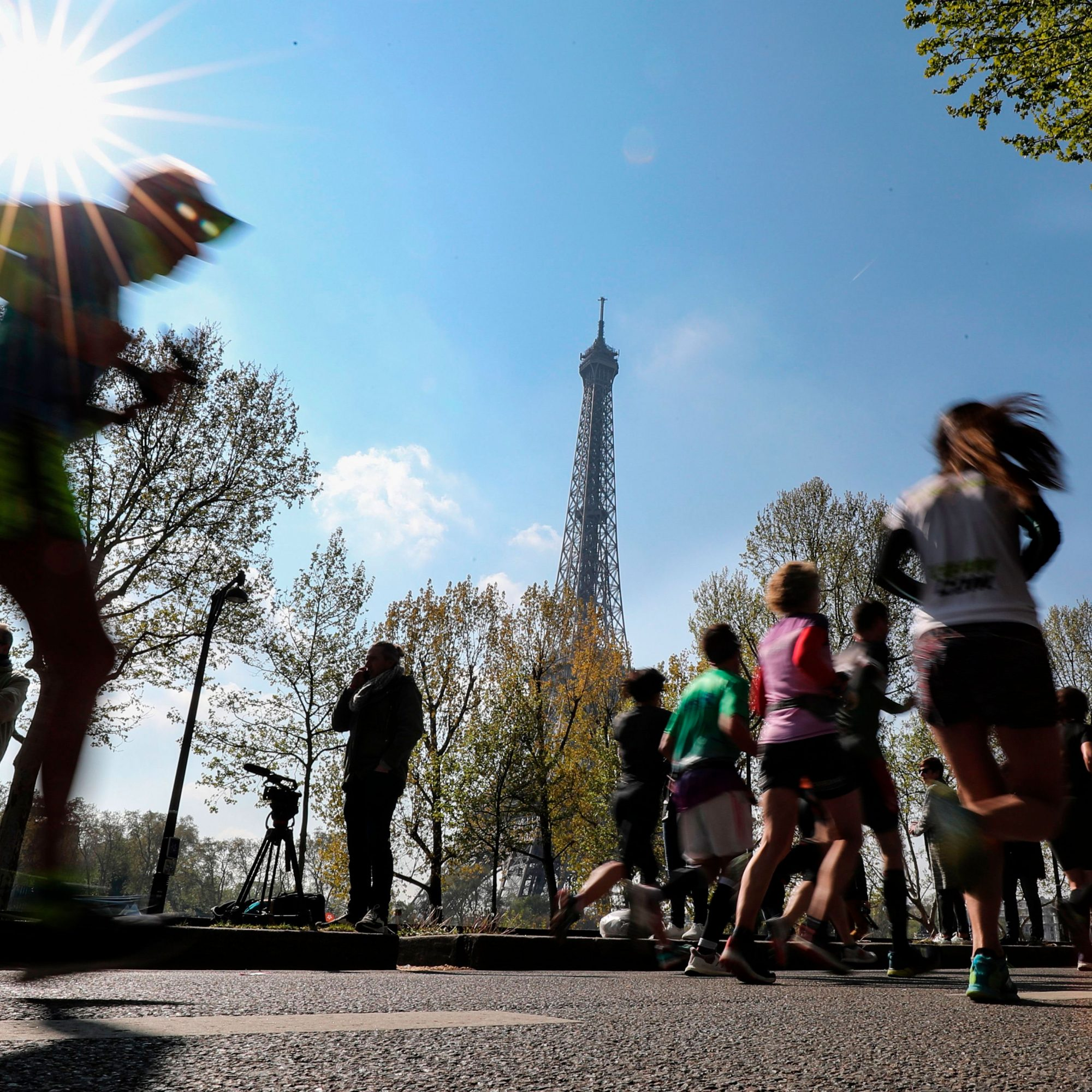Paris Marathon, Paris, France