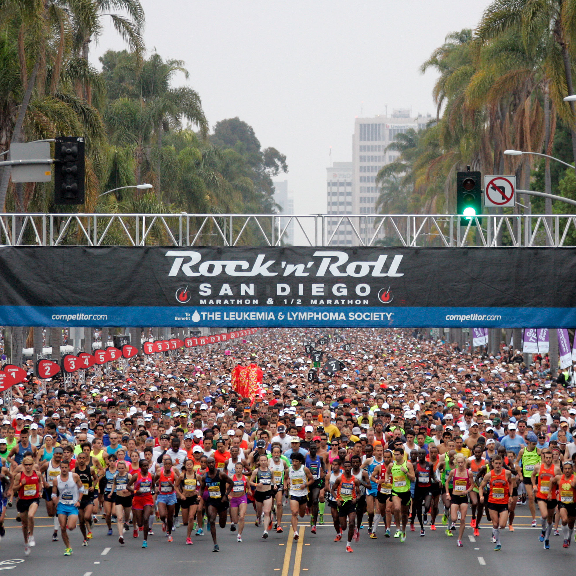 Rock 'n' Roll Marathon Series, Multiple Locations
