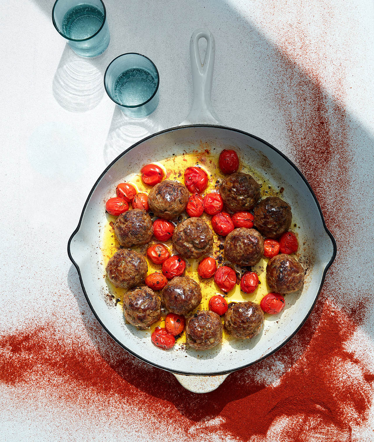Tahini-Parsley Meatballs with Paprika
