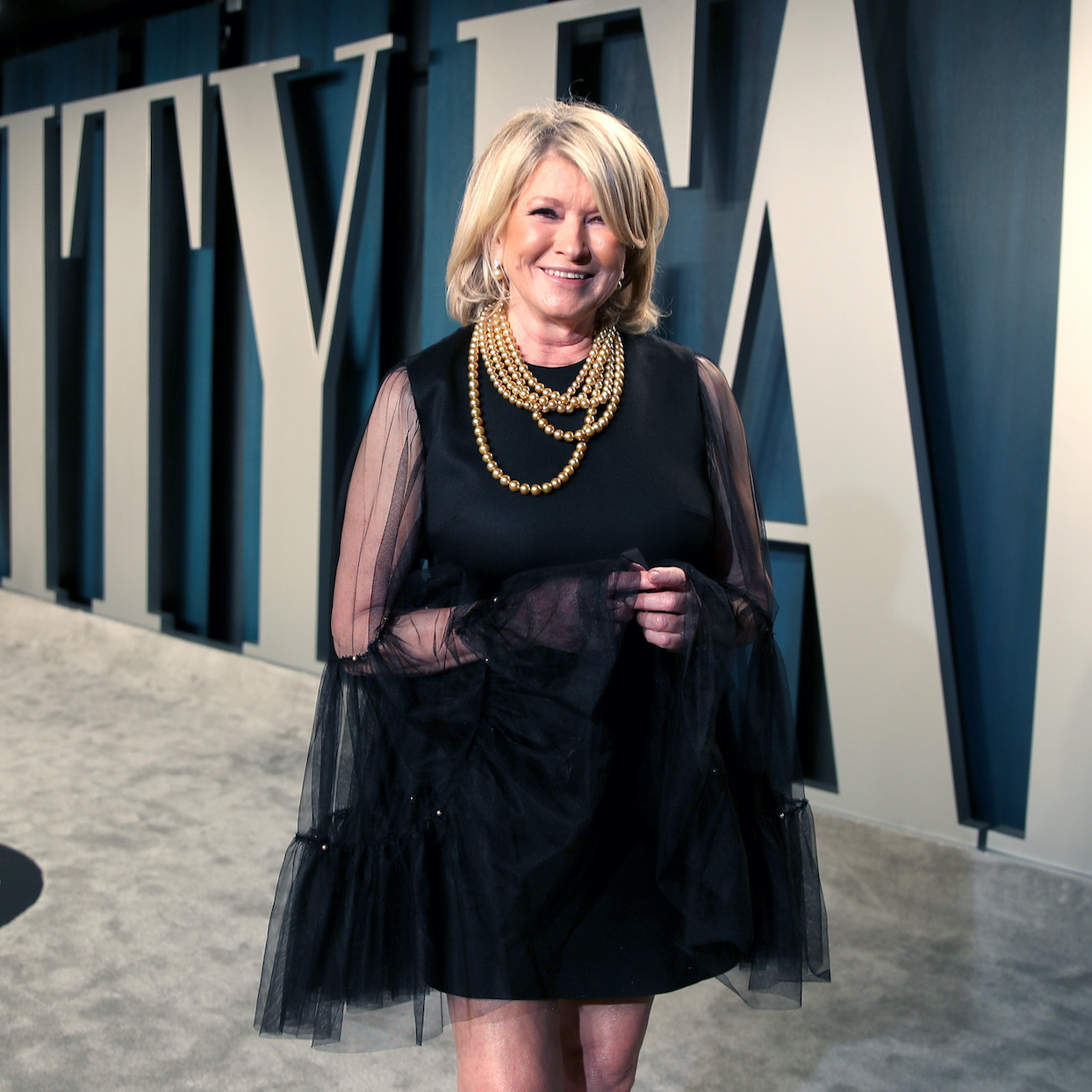 Martha Stewart attends the 2020 Vanity Fair Oscar Party hosted by Radhika Jones at Wallis Annenberg Center for the Performing Arts on February 09, 2020 in Beverly Hills, California