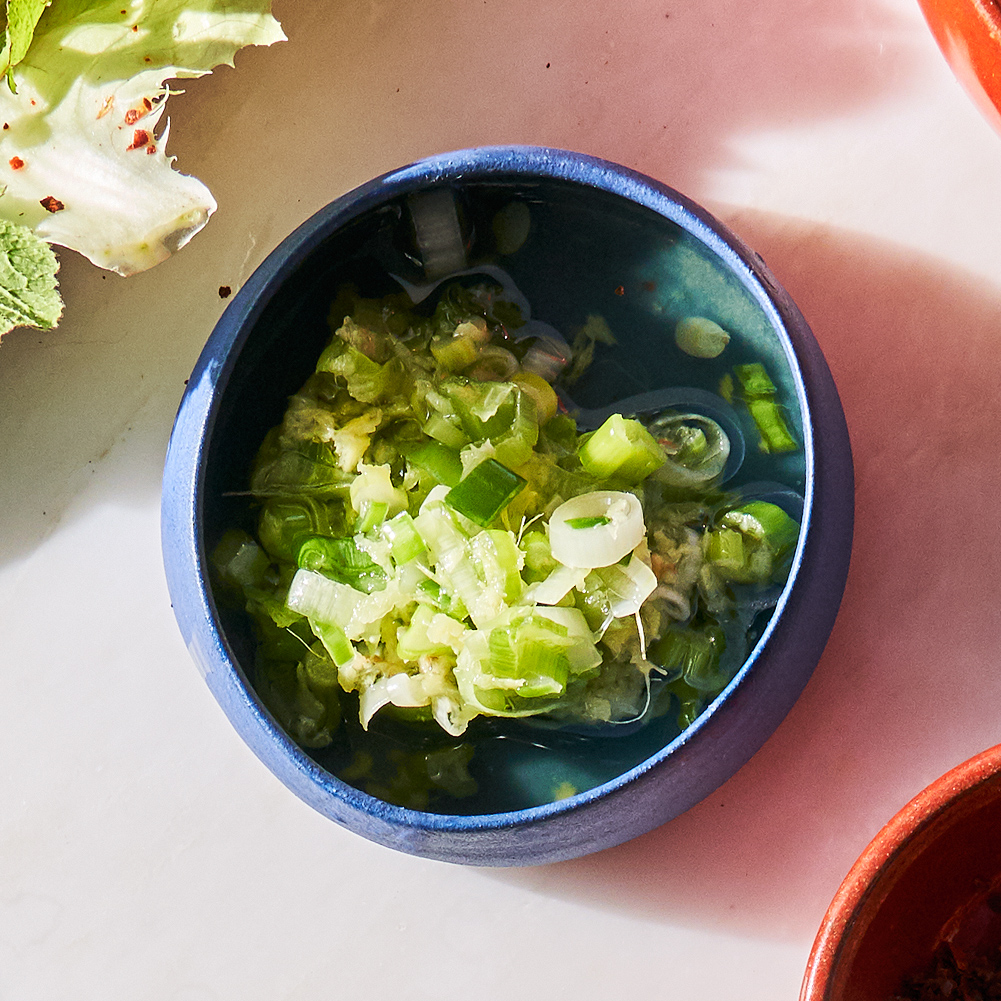 Ginger-Scallion Sauce