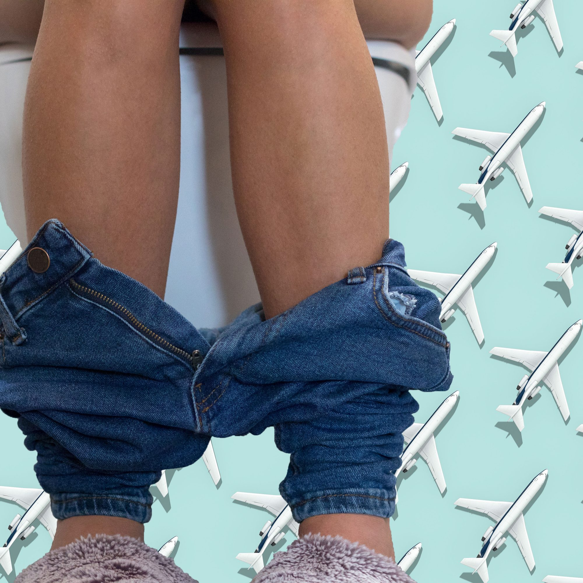 Close_Up_Of_Woman's_Legs_On_Toilet