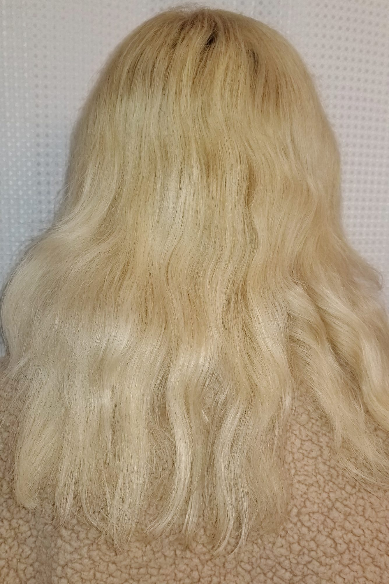 Hair after photo