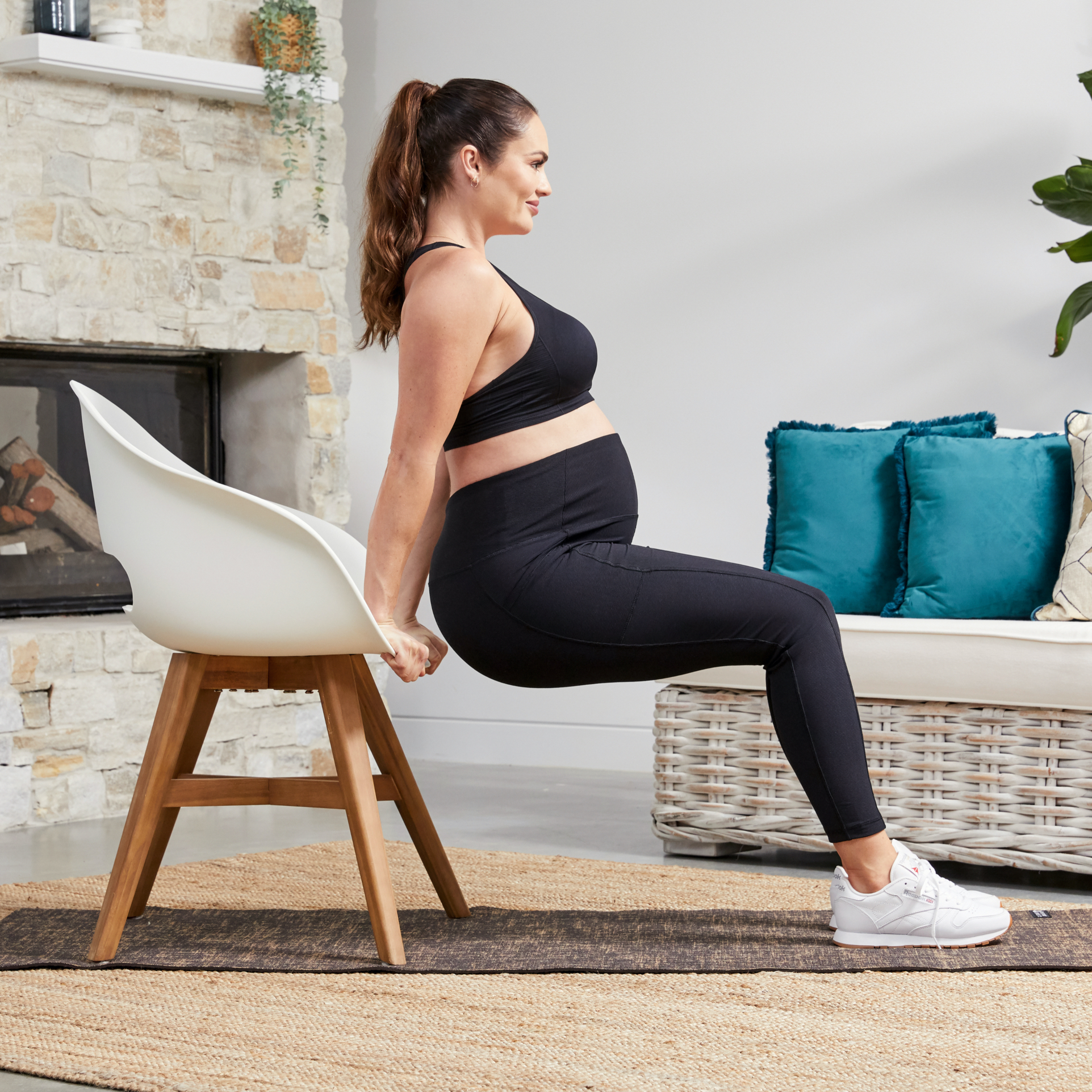 Emily Skye Created a New Pregnancy Workout Program to Guide You Through Each Trimester