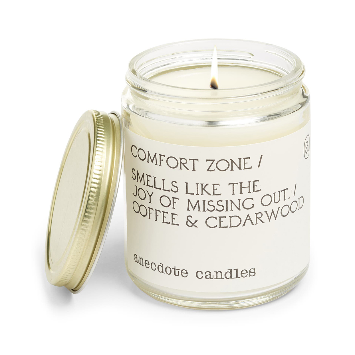 Anecdote Candles' Comfort Zone Candle