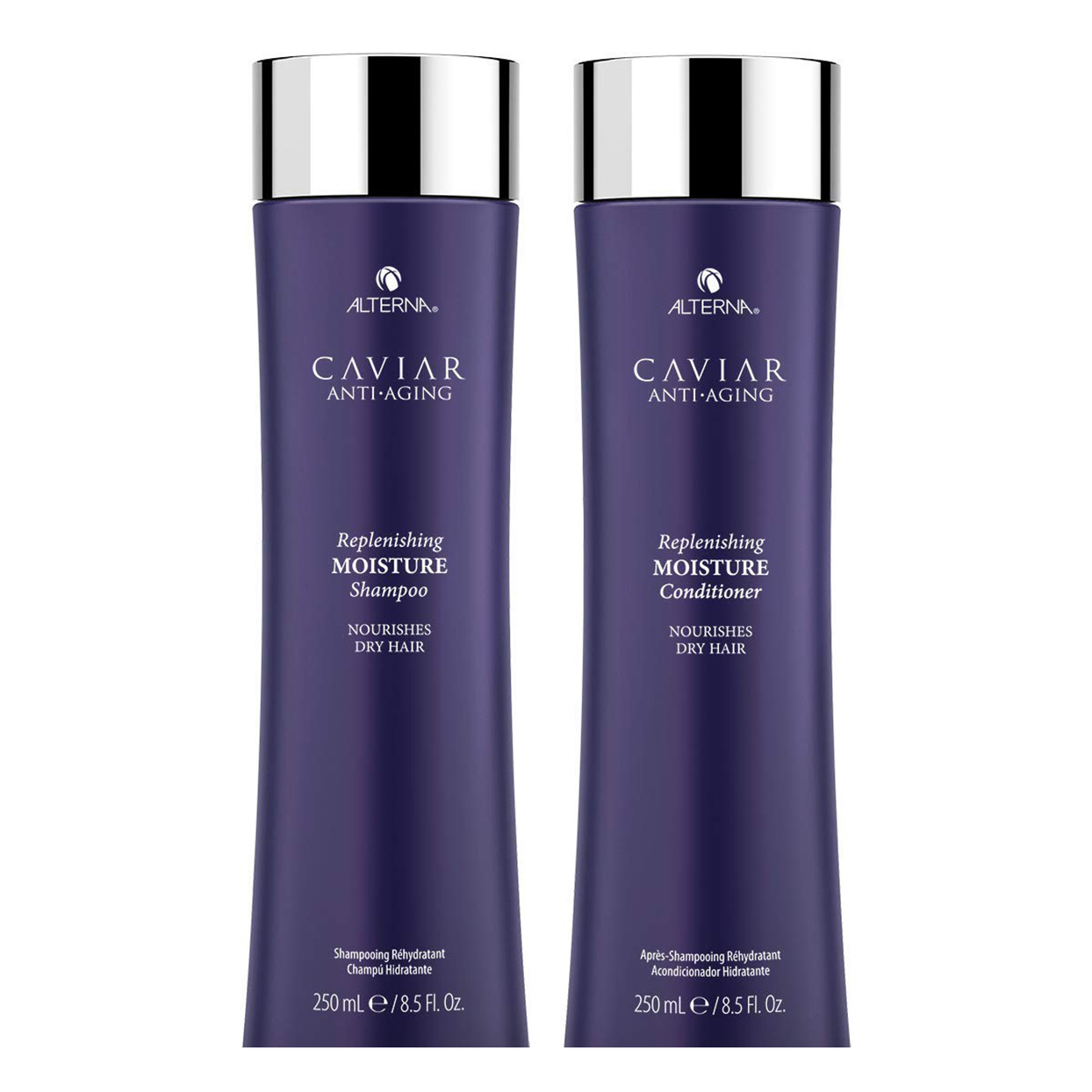 Alterna Caviar Anti-Aging Replenishing Moisture Shampoo and Conditioner Kit