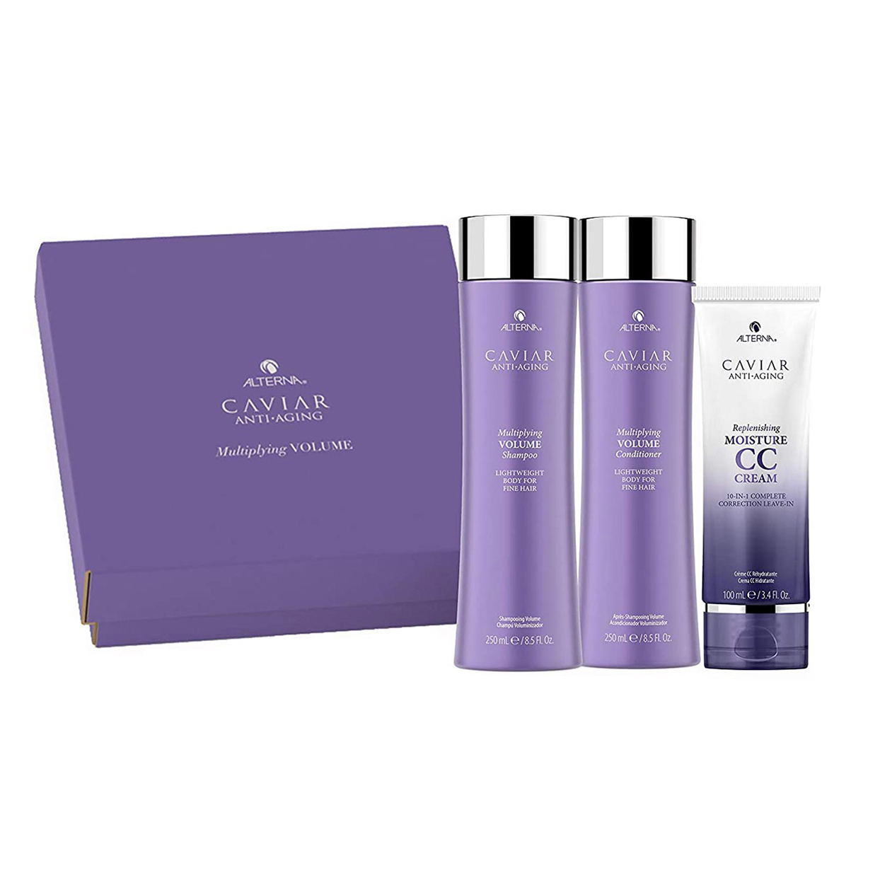 Alterna Caviar Anti-Aging Multiplying Volume Shampoo and Conditioner Kit