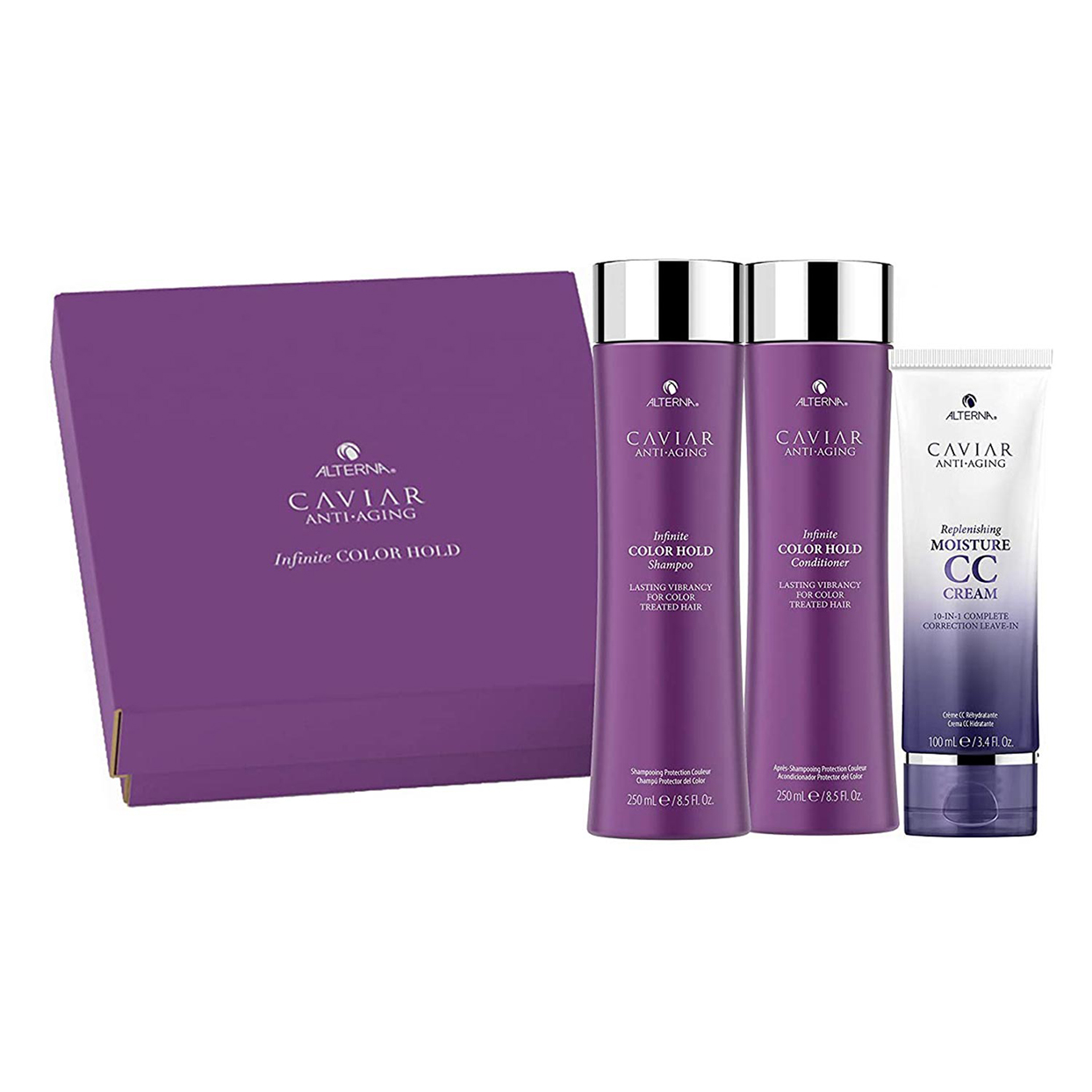 Alterna Anti-Aging Infinite Color Hold Shampoo and Conditioner Kit,