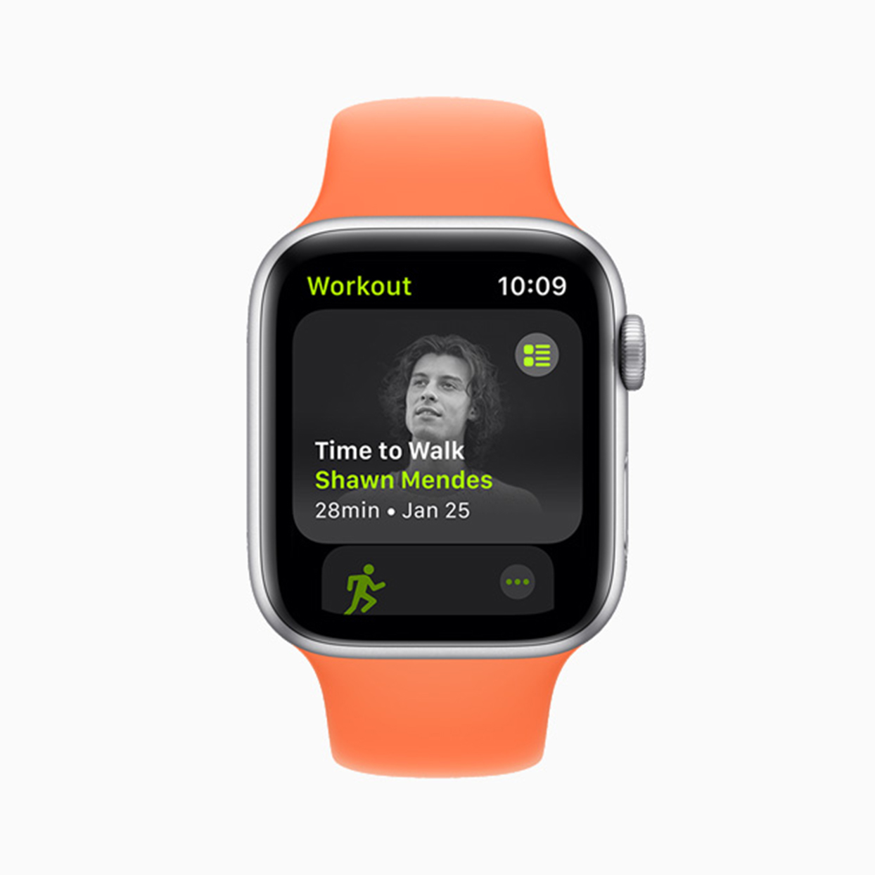 Shawn Mendes' Time to Walk on Apple Watch
