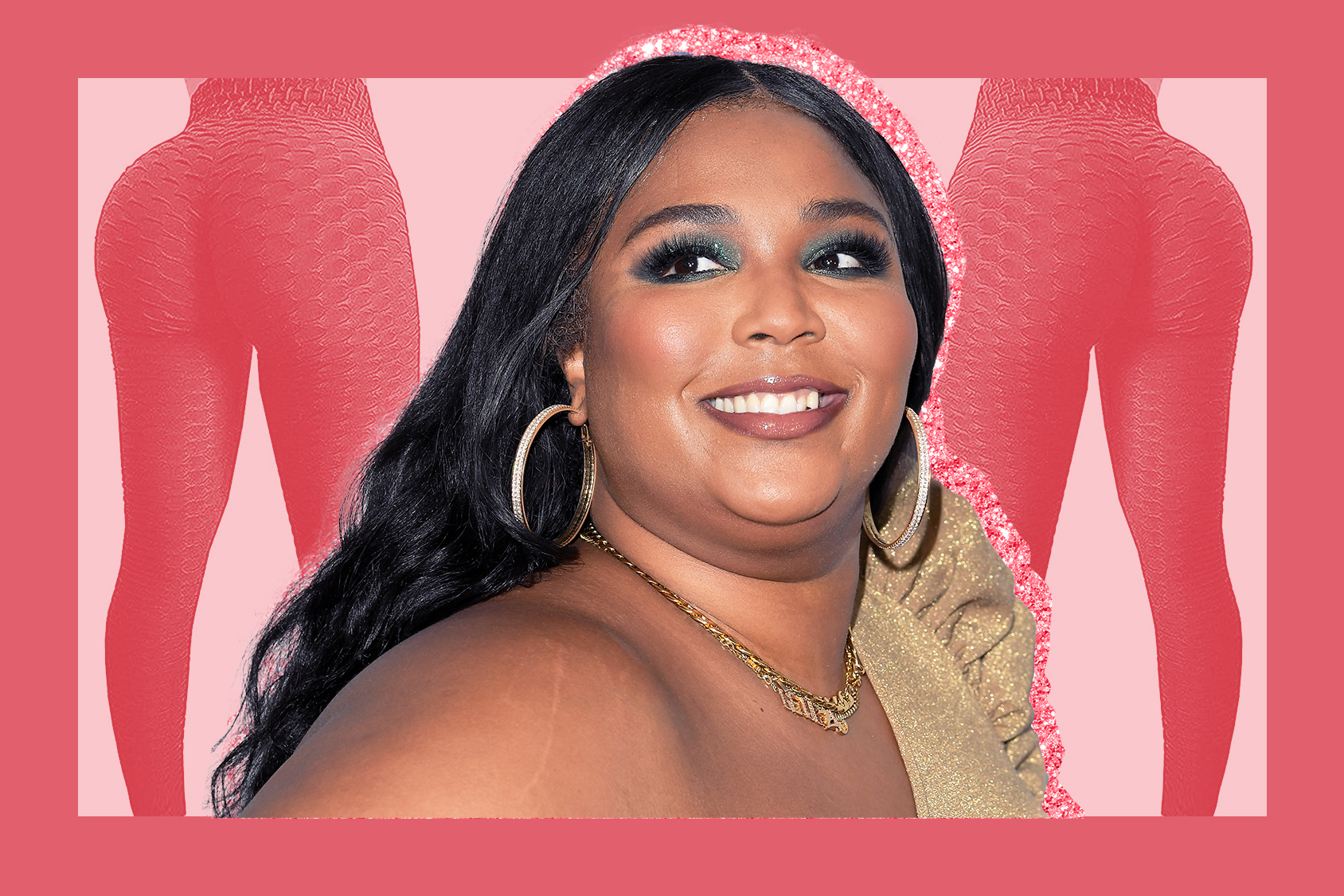lizzo tiktok butt sculpting leggings , INGLEWOOD, CALIFORNIA - DECEMBER 06: Lizzo arrives at the KIIS FM's Jingle Ball 2019 Presented By Capital One At The Forum at The Forum on December 06, 2019 in Inglewood, California. (Photo by Steve Granitz/WireImage)